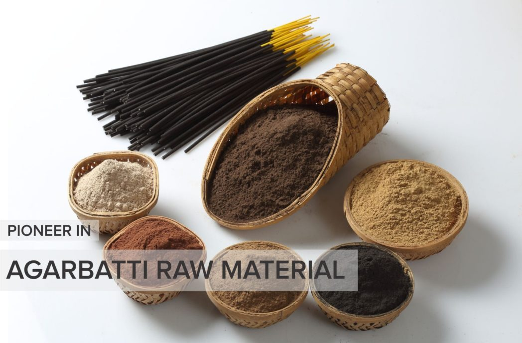 dhoop batti making raw material